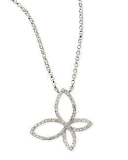 KC Designs Diamond Butterfly Pendant Necklace