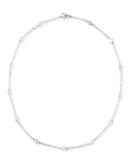 """Fantasia by DeSerio 16"""" Cubic Zirconia By-the-Yard Chain Necklace"""