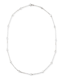 """Fantasia 18"""" Cubic Zirconia By-the-Yard Chain Necklace"""