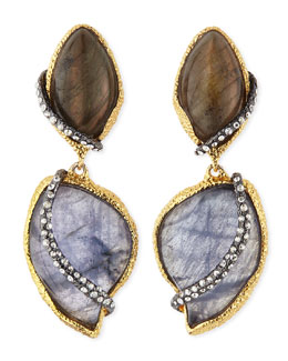Alexis Bittar Winding Vine Clip-On Earrings