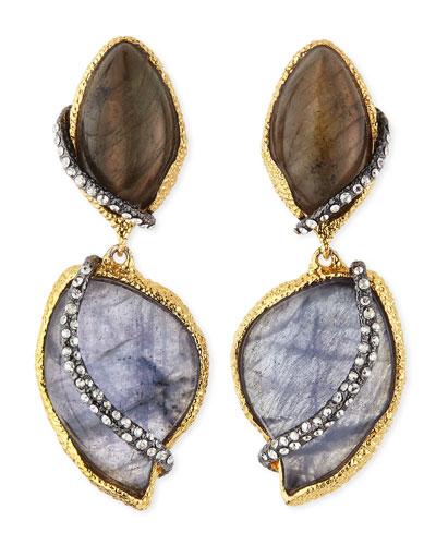 Alexis Bittar Winding Vine Clip-On Earrings