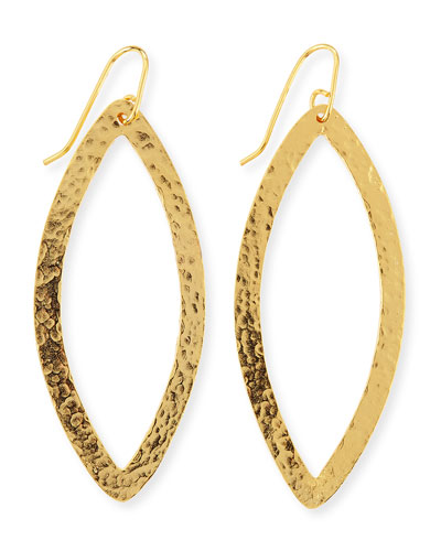 Stephanie Kantis Paris 24k Gold-Plated Eye Earrings