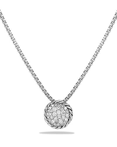 David Yurman Chatelaine Pendant with Diamonds