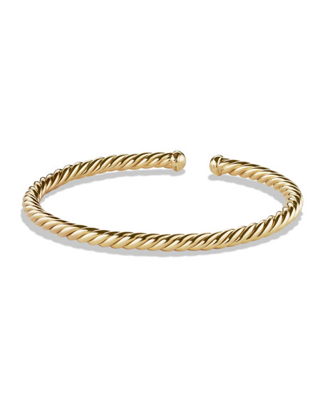 David yurman cable bracelet in gold neiman marcus for David yurman inspired bracelet cable