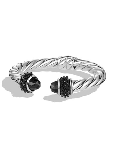 Renaissance Reverse Set Bracelet with Onyx