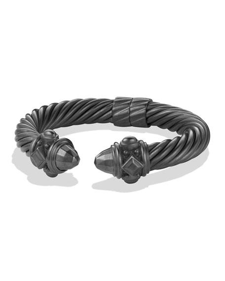 David Yurman Renaissance Bracelet in Darkened Sterling Silver