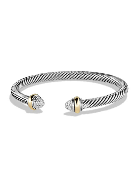 David Yurman Color Classics Bracelet with Diamonds and