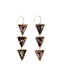 Lana Mystiq Tri-Spike Earrings