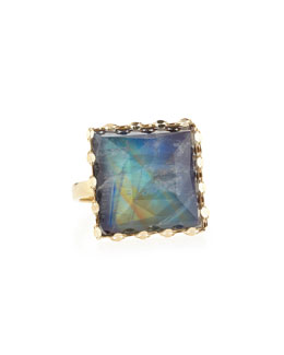 Lana 14k Gold Mesmerize Square Ring