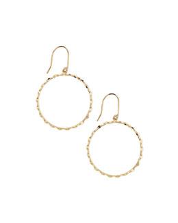 Lana Small 14k Blake Hoop Earrings