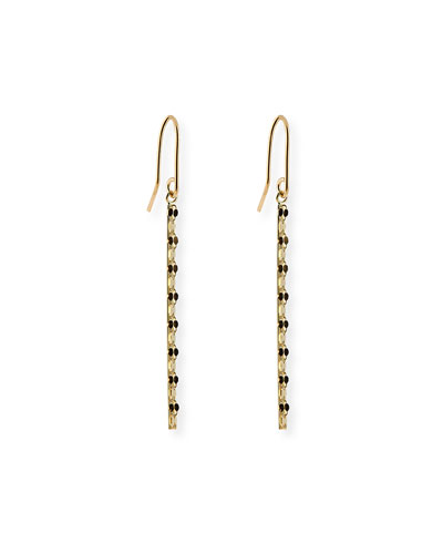 Lana Small 14k Glam Bar Earrings