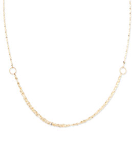 Lana Mega Blush 14k Gold Necklace, 30""