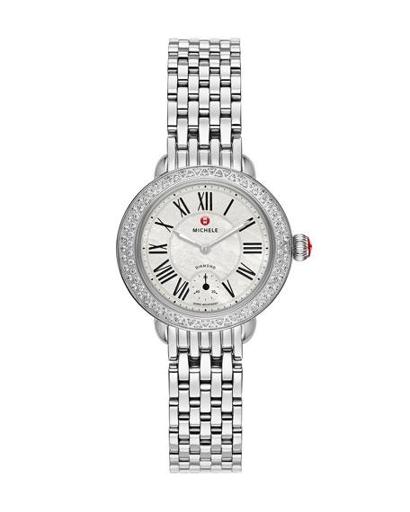 12mm Serein  Diamond Stainless Watch Head