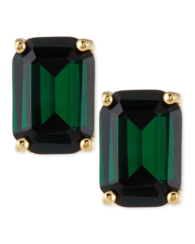 kate spade new york emerald-cut crystal earrings 948543fcd