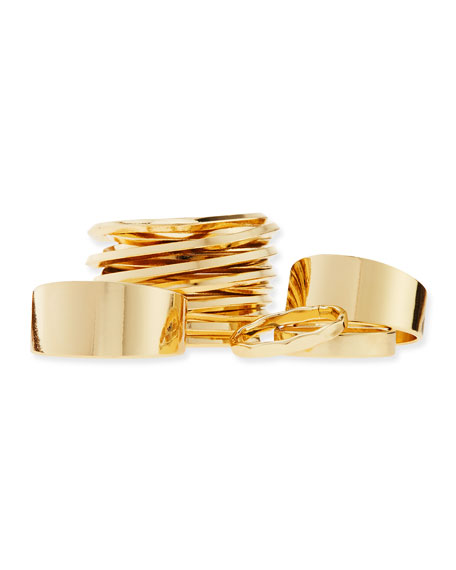 Wired Set Of Five Golden Rings