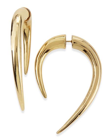 Golden Claw Dagger Earrings