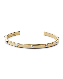 Michael Kors  Astor Open Cuff, Two-Tone