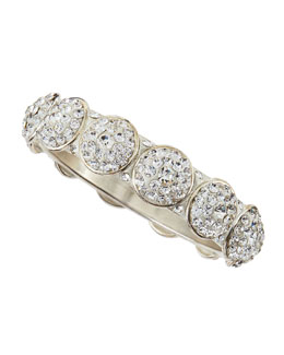 Chamak by Priya Kakkar Austrian Crystal Circles Bangle