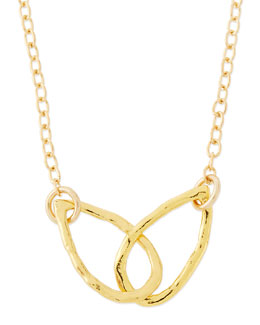 Gorjana 18K Gold Plated Conwell Charm Necklace