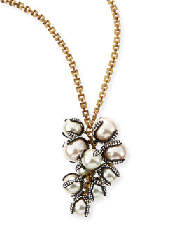 Lulu Frost Decade Simulated Pearl Long Necklace