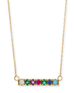 Lulu Frost Gold DEAREST Code Word Necklace
