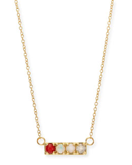 Lulu Frost Gold COOL Code Word Necklace