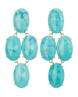 Kendra Scott Steph Turquoise Earrings