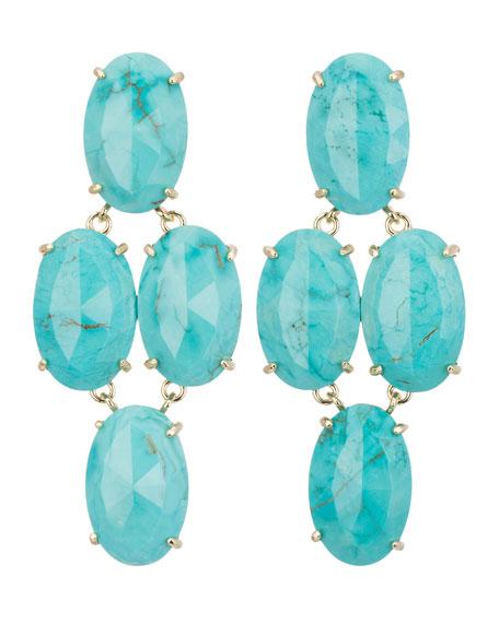 Steph Turquoise Earrings