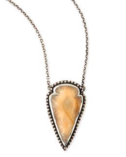 Pamela Love Arrowhead Pendant Necklace