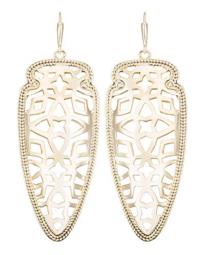 Kendra Scott Sadie Gold-Plated Earrings