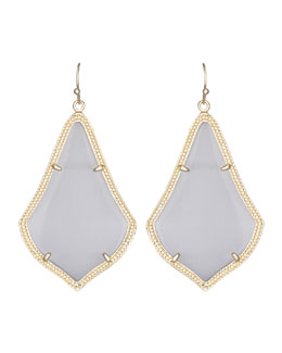 Kendra Scott Alexandra Earrings, Slate