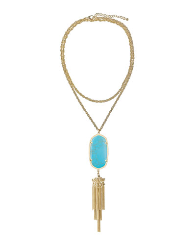 Kendra Scott Rayne Pendant Necklace, Turquoise