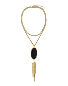 Kendra Scott Rayne Pendant Necklace, Black