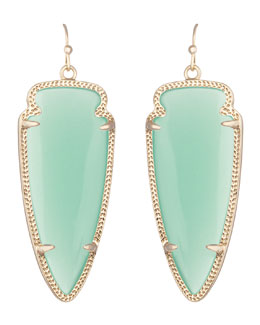 Kendra Scott Skylar Earrings, Chalcedony