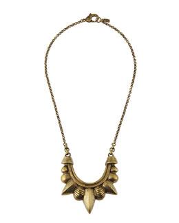 Pamela Love Bronze Medium Tribal Spike Pendant Necklace