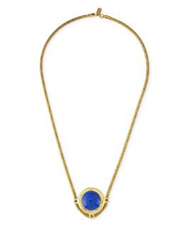 Pamela Love Dasha Blue Lapis & Sapphire Necklace