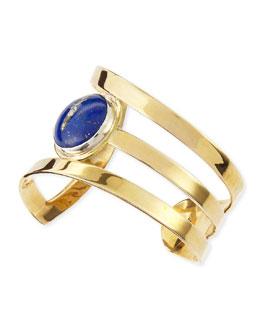 Pamela Love Meridian Blue Lapis Cuff