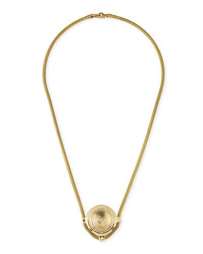 Pamela Love Dasha Pendant Necklace