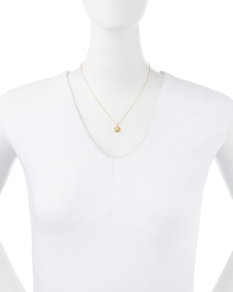 Gold-Dipped Let Your Bright Light Shine Necklace