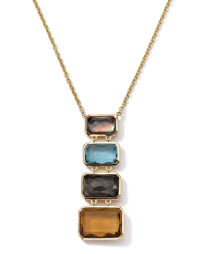 Ippolita 18k Gold Rock Candy Gelato Multi-Stone Necklace