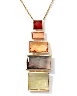 Ippolita 18k Gold Rock Candy Gelato Pendant Necklace