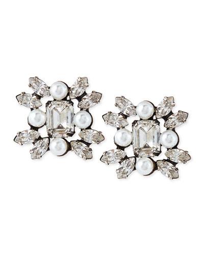Dannijo Lilly Crystal Earrings