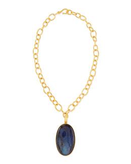 Dina Mackney Labradorite Pendant Necklace