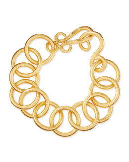 Stephanie Kantis 24k Gold-Plated Bronze Classic Link Bracelet