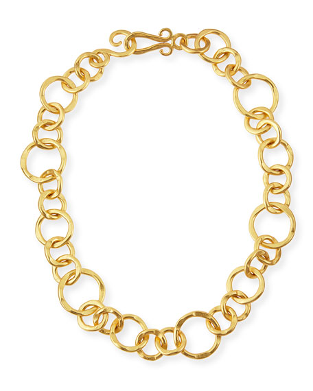Stephanie Kantis 24k Gold-Plated Bronze Coronation Necklace, 18
