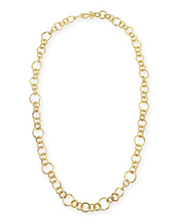 Stephanie Kantis 24k Gold-Plated Bronze Coronation Necklace, 42""