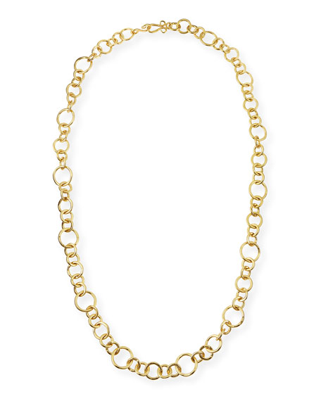 Stephanie Kantis 24k Gold-Plated Bronze Coronation Necklace, 42