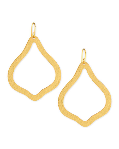 Stephanie Kantis 24k Gold-Dipped Paris Single-Ornament Earrings