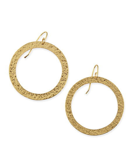 Stephanie Kantis Paris Large Round Bronze Earrings