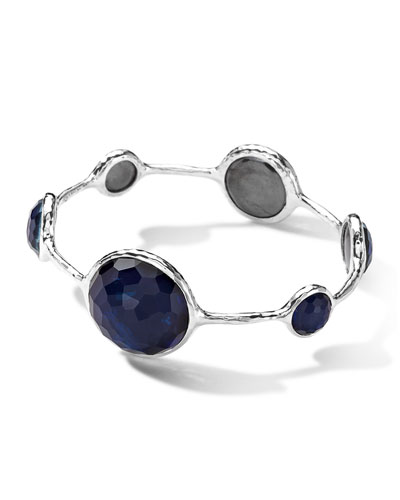 Ippolita Silver Wonderland Quartz/Pyrite Bangle